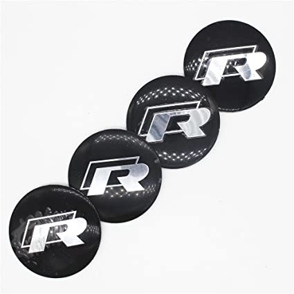 Amazon.com: 4pcs New Car R Line Sports Wheel Center Hub Caps Cover Rim Sticker For Volkswagen VW GTI JETTA MAGOTAN CC GOLF POLO GOLF Passat: Automotive