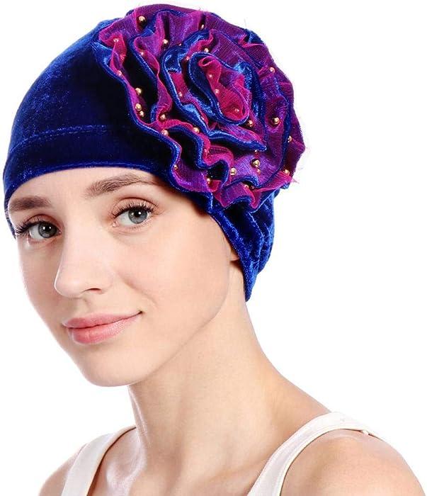 Turban Damen Kappe Muslime Kopftuch Für Haarausfall Krebs Chemo