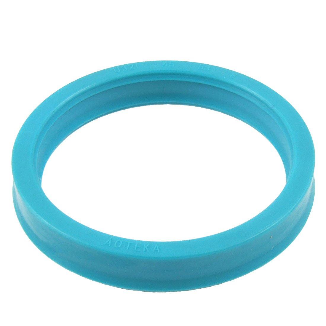 uxcell Single Lip PU Hydraulic Cylinder Oil Seal 45mm x 53mm x 8mm a12011100ux0123