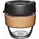 KeepCup 8oz Travel Mug, Espresso, 6x8x9.6 cm