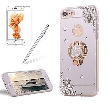 coque iphone 8 miroir diamant