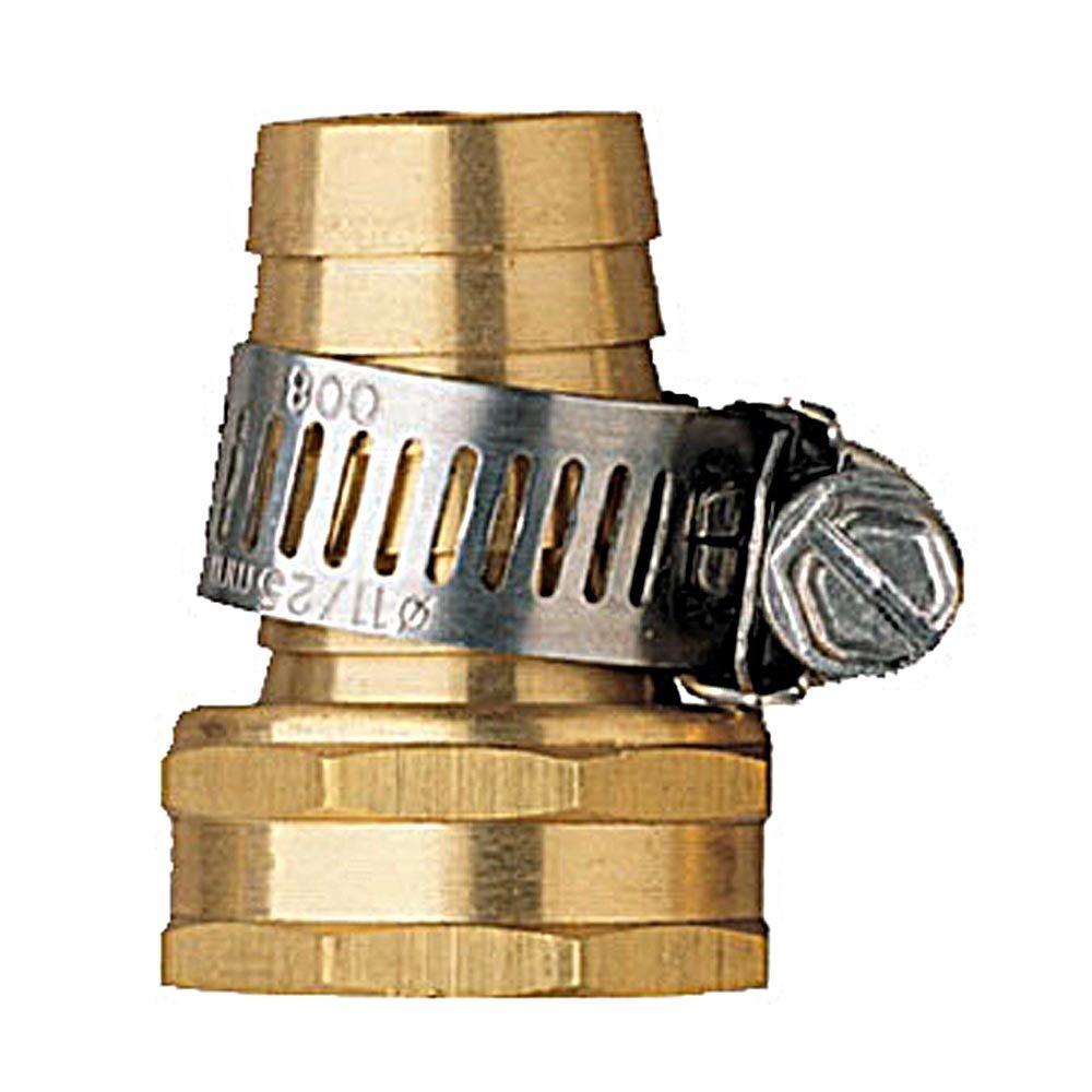 100 Pack - Orbit 5/8 Female Aluminum Water Hose Repair Kit w/ Hose Clamp