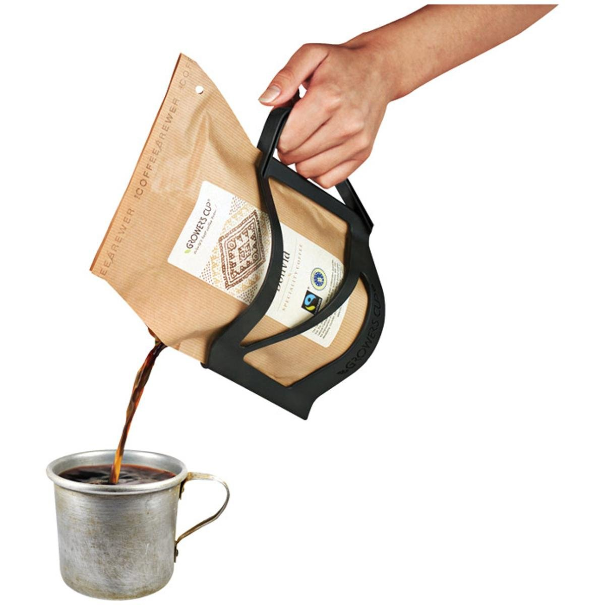 Amazoncom Growers Cup Easy Serve Holder Coffee Camping Coffee