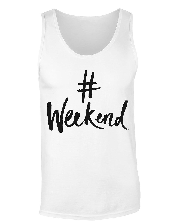 #Weekend Women's Tank Top Shirt Small