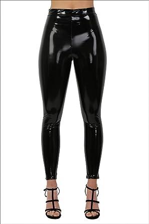f9a1d3567c76 PILOT High Shine Vinyl Leggings: Amazon.co.uk: Clothing