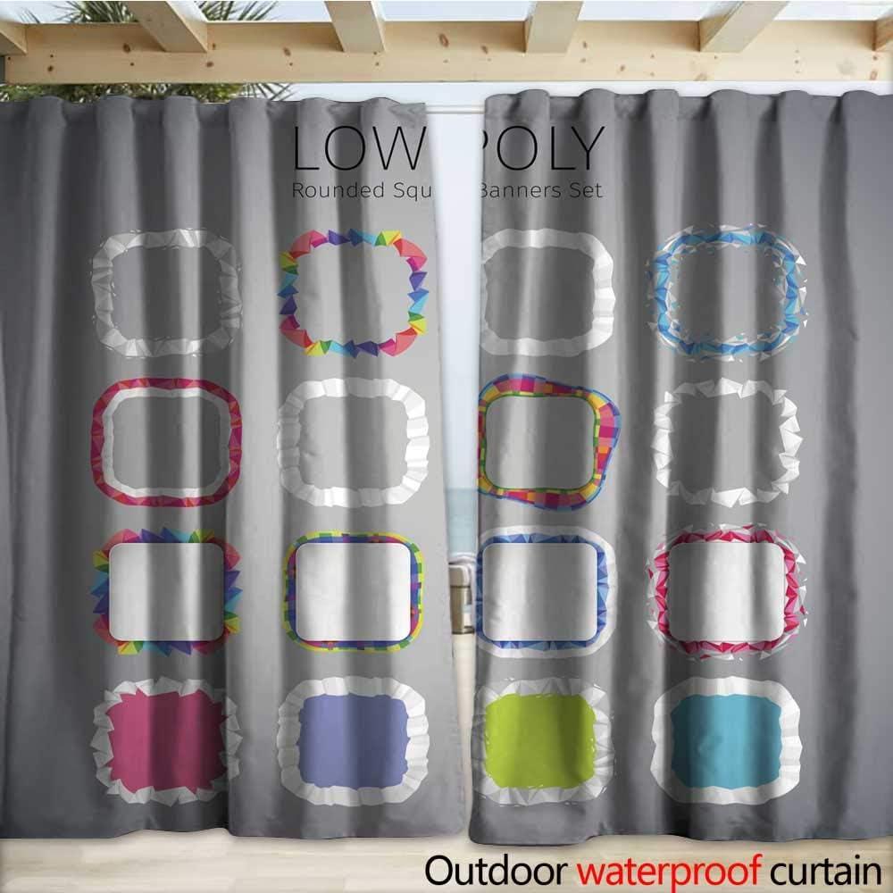 warmfamily - Cortinas Impermeables para Puertas correderas, diseño de corazón Rojo Sobre Fondo Blanco, 108 x 96 cm: Amazon.es: Jardín