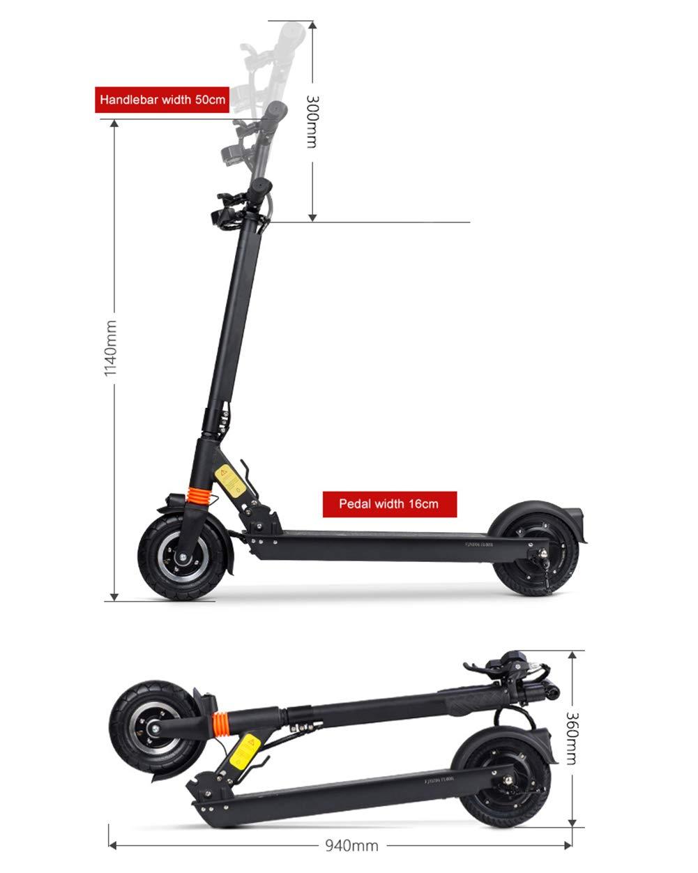 GREATY E-Scooter, Plegable Scooter Eléctrico para Adultos ...
