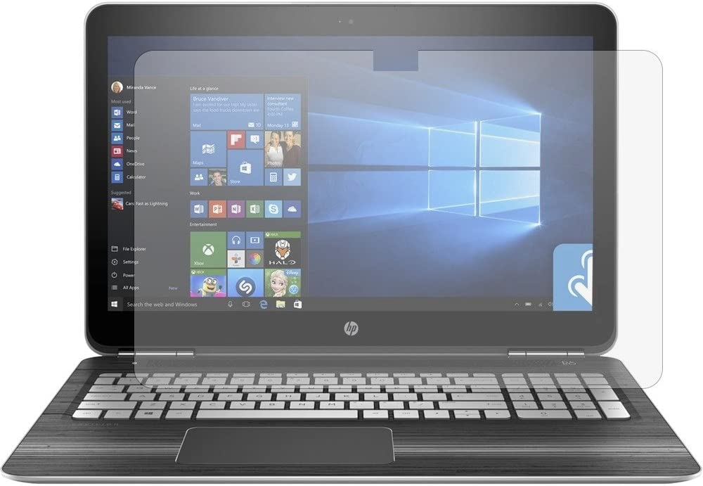 PcProfessional Screen Protector (Set of 2) for HP Pavilion 15.6