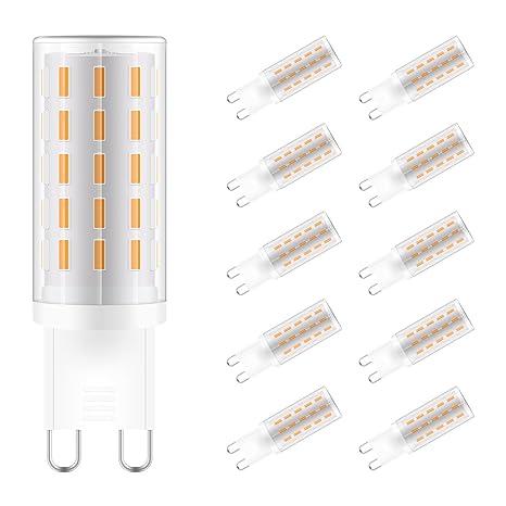 Sunix bombillas LED GU9 de 3W, equivalentes a Lámparas halógenas de 30W, Blanco Cálido