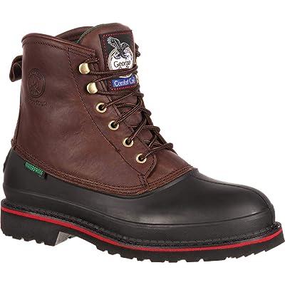 Georgia Boot Men's Muddog Waterproof Steel-Toe Work Boot | Industrial & Construction Boots