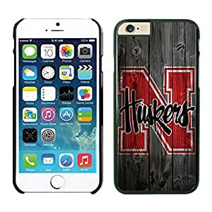 iPhone 6 Cover Case NCAA-BIG TEN Nebraska Cornhuskers 12 Black TPU Phone Case For Apple iPhone 6 4.7 Inches