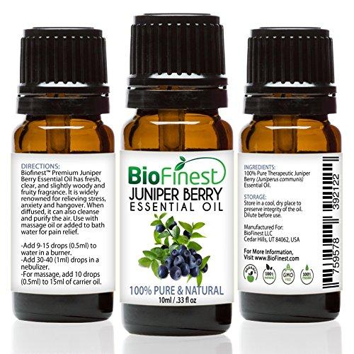 BioFinest Juniper Berry Oil - 100% Pure Juniper Berry Essent