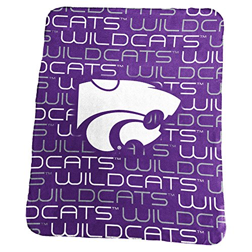 Kansas State University Wildcats Fleece Throw Blanket