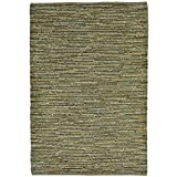 Cheap Liora Manne SH071A58206 Desert Striped Weave Rug, Indoor/Outdoor, Room Size, Green