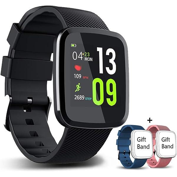 VASCOO SmartWatch, Reloj Inteligente con Impermeable 67 ...