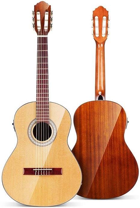 "Vangoa Acoustic Guitar 36/"" 3//4 Extra Strings Strap Capo Picks Cable Gig Bag New"