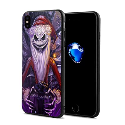 half off c56f4 a0ba0 Amazon.com: WSXEDC iPhone X Case - Nightmare Before Christmas Phone ...