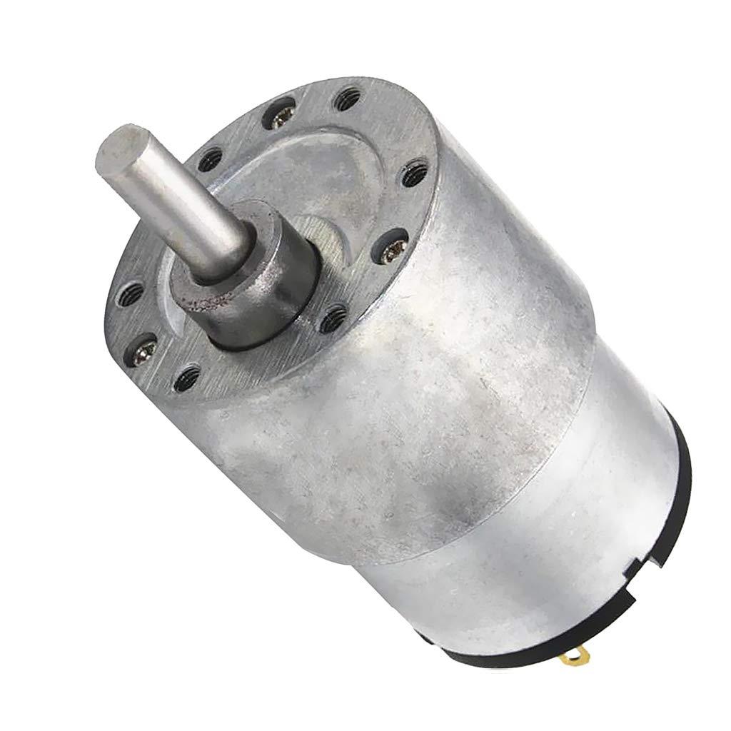 Gazechimp Motore Sostituisce Attrezzi Riduzione Micro velocit/à Riduttore 37gb-520 12v CC 7RPM