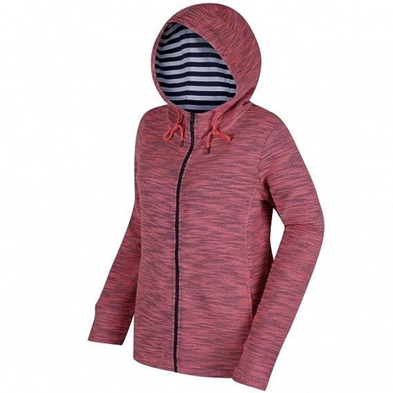 New Women/'s Regatta Orlenda Zip Hoody Jacket Light Vanilla Size UK 10 UK 12