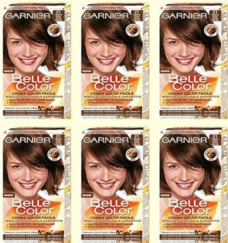 Garnier Belle Color 21 – Castaño Claro Dorado Tinte para el ...
