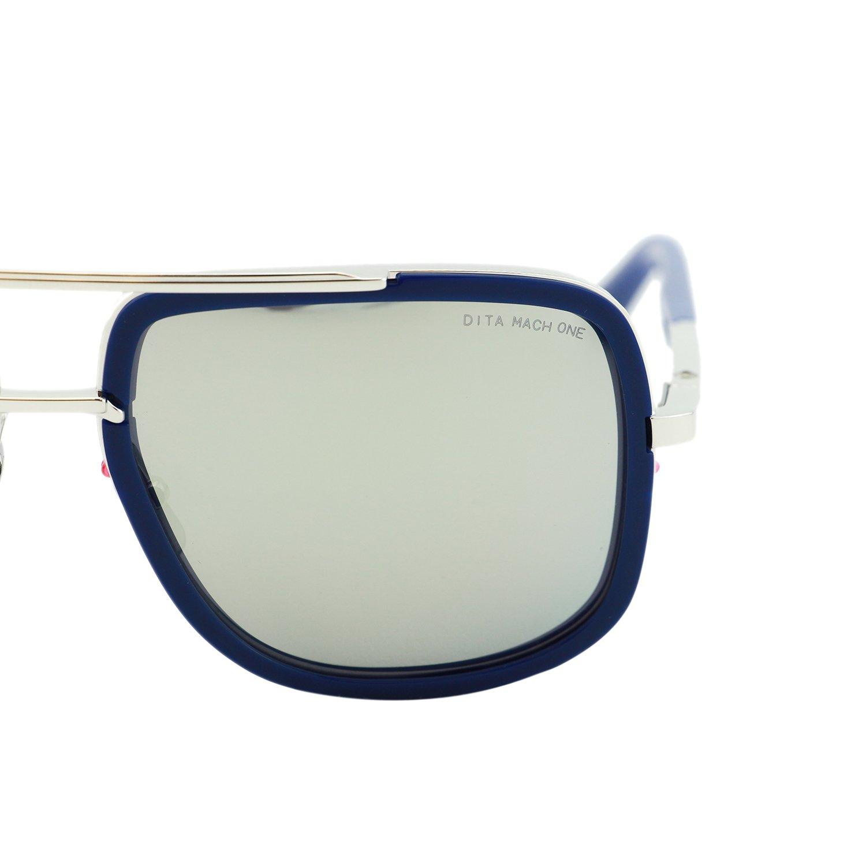 1c0aa62cfc Dita Mach One Sunglasses DRX-2030 Titanium 59mm Mirrored Flash Lens Made In  Japan (Blue   Silver