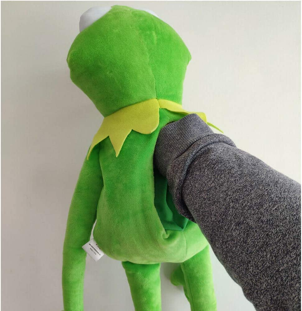 GHTYN The Muppets Kermit The Frog Soft Toy,Soft Plush Toy,The Frog Plush Doll,Hand Puppet,Cartoon The Marionetas De Mano Peluche,Dise/ñO De Animal Lindo Peluche para,Regalos Juguetes 60cm //Verde