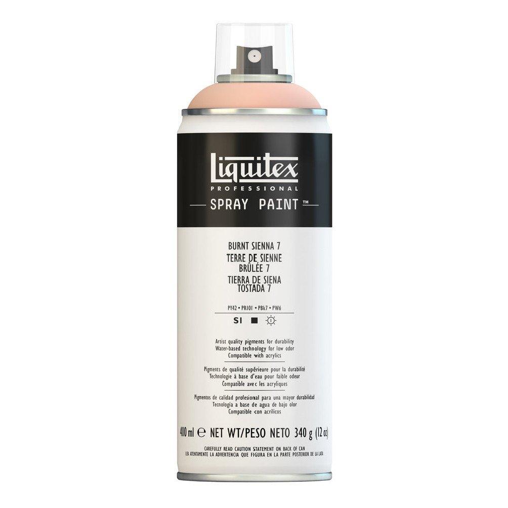 Liquitex プロフェッショナル スプレーペイント 12オンス 400ml Can ブラウン 4457127 B008N7HLFO Burnt Sienna 7 Burnt Sienna 7