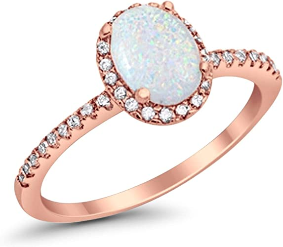 925 STERLING SILVER RING WITH HEART WHITE OPAL CENTER AND CLEAR Cz SIZE 6,7,8,9