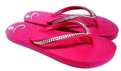 dema , Damen Zehentrenner Pink fuchsia 37, Pink - fuchsia - Größe: 37