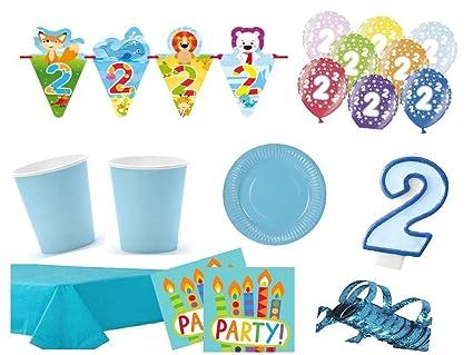 XXL para fiestas cumpleaños 2. Cumpleaños Niños (54 piezas ...