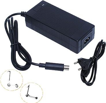 Poweka Cargador Patinete Electrico Cargador de batería 42V 2A ...