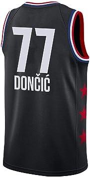 WOLFIRE WF Camiseta de Baloncesto para Hombre, NBA, Dallas ...