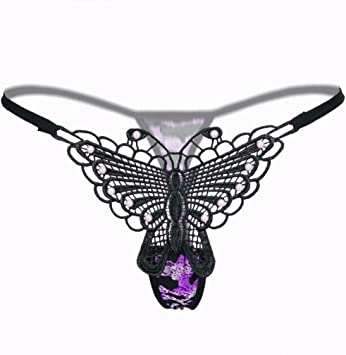 Ropa Interior De Mujer Negro Color Perla Tanga Encaje Tangas Bragas Cintura Baja venta