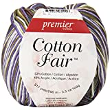 Premier Yarns Cotton Fair Multi Yarn, Violets