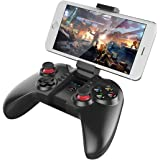 IPEGA PG-9068 Wireless Bluetooth 3.0 Joystick Gamepad Gaming Controller Remote Control with 6 Inch Telescopic Holder for Mobile Phone Tablet PC iOS Android TV Box
