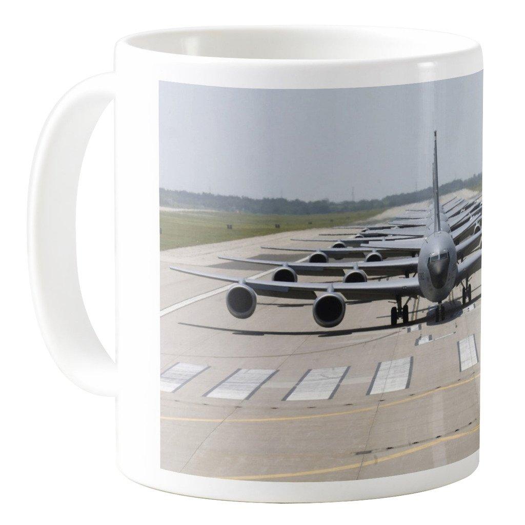 AquaSakura Boeing Kc 135 Stratotanker 11oz Ceramic Coffee Mug Tea Cup