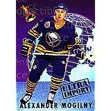 Alexander Mogilny Hockey Card 1992-93 Ultra Import #16 Alexander Mogilny