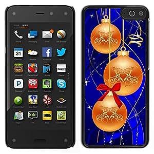 // PHONE CASE GIFT // Duro Estuche protector PC Cáscara Plástico Carcasa Funda Hard Protective Case for Amazon Fire Phone / Christmas Decorations /