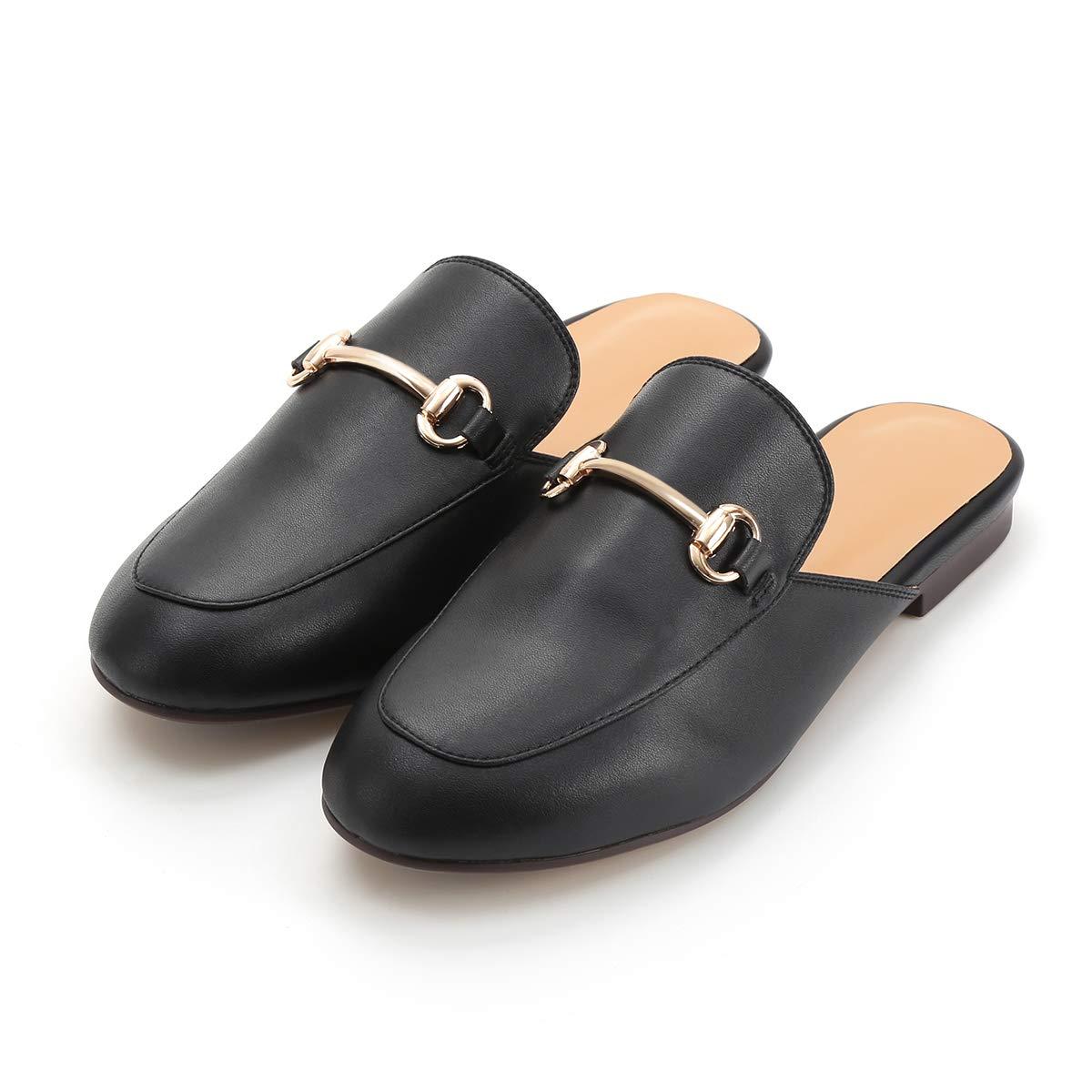 e4d41c92 Amazon.com | LaRosa Womens Leather Oxford Backless Slipper Slip-ons ...