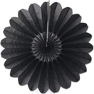 product image for 6-Pack 18 Inch Tissue Paper Fanburst (Black)