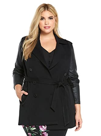 84763b8aef2 Image Unavailable. Image not available for. Color  Torrid Trench Coat