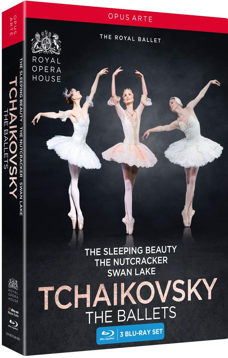 Blu-ray : Ballets (3 Pack)
