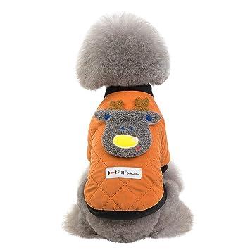 AMhomely Abrigo para Mascotas de otoño e Invierno, diseño de Gato ...