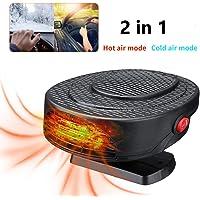 $22 » JINGOU 2 in 1 Portable Car Heater or Fan 12V 150W Fast Heating & Cooling Car Defogger Car…