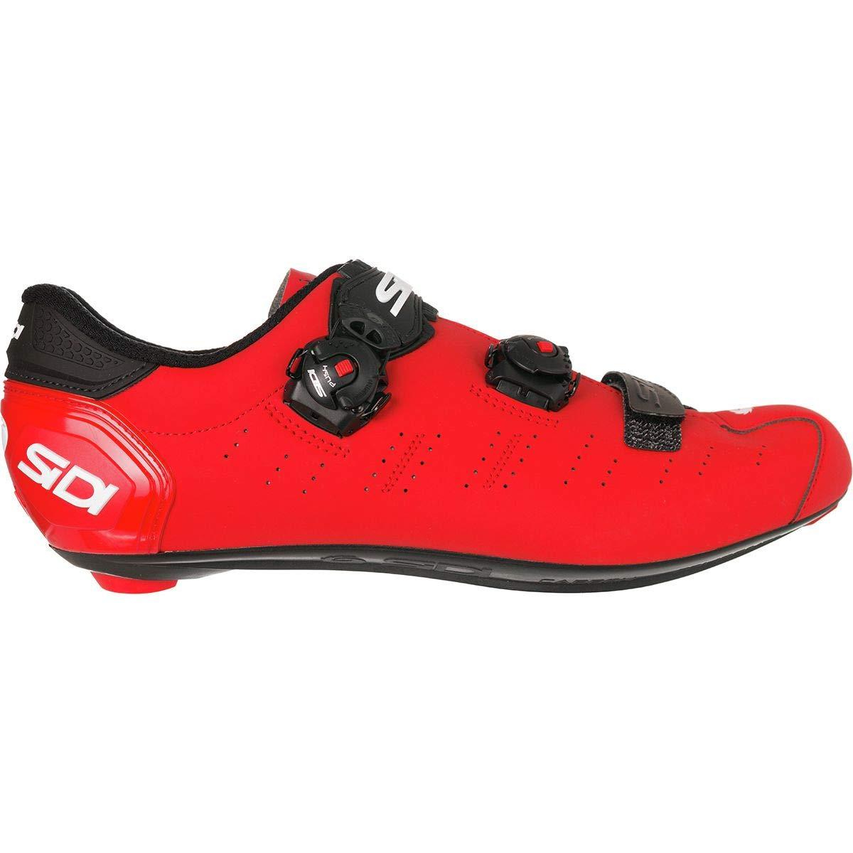 SIDI(シディ) ERGO 5 MATT RED/BLK 43.5 26.75cm相当 ビンディングシューズ   B07HR9BNY3