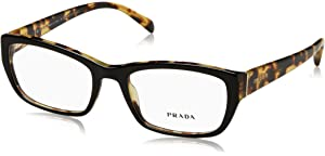 eb30825cb738 Prada Women s PR 15PV Eyeglasses 55mm at Amazon Men s Clothing store ...