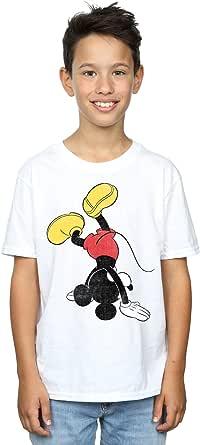 Disney Niños Mickey Mouse Upside Down Camiseta