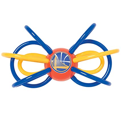 Amazon.com: Bebé Fanatic Golden State Warriors Winkel Rattle ...