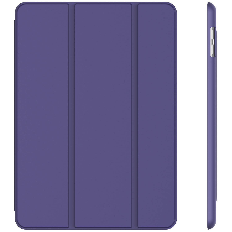 JETech Case for iPad (9.7-Inch, 2018/2017 Model, 6th/5th Generation), Smart Cover Auto Wake/Sleep, Purple