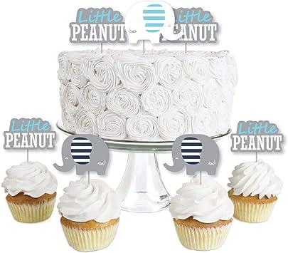 100pcs mini plastic baby babies baby shower party favors cup cake decor